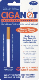 Ciganot Smokeless Cigarette - The safe alternative to Smoking